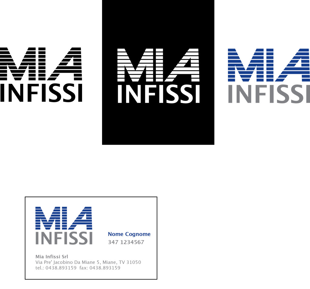 Logo Design of Mia Infissi