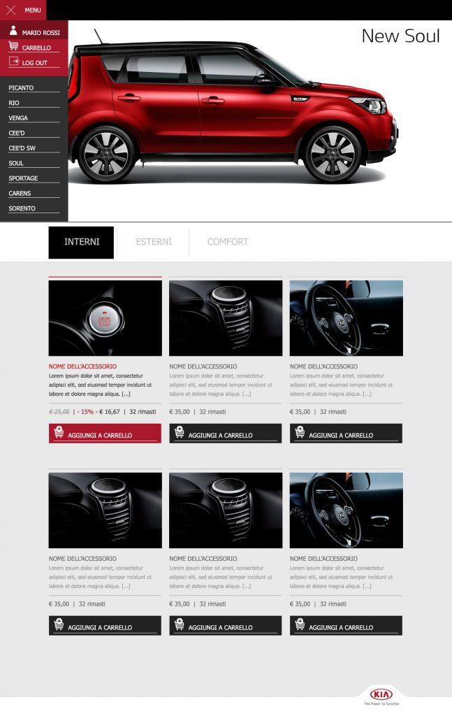 Kia after sales, website Kia Motors for A-Tono
