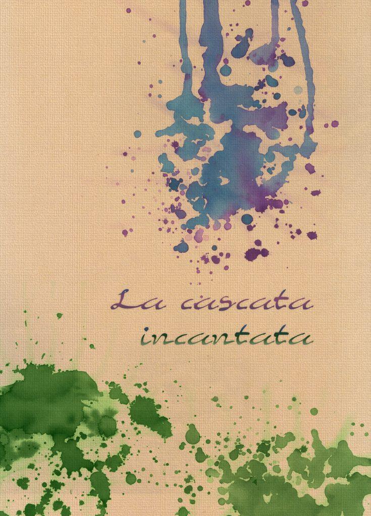 """La cascata incantata"", fantasy illustrated tale"